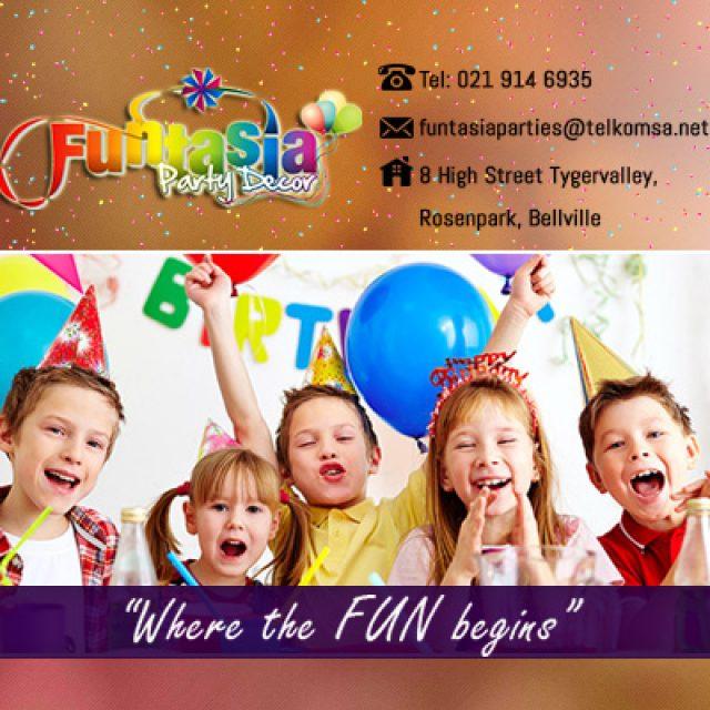 Funtasia Party Decor